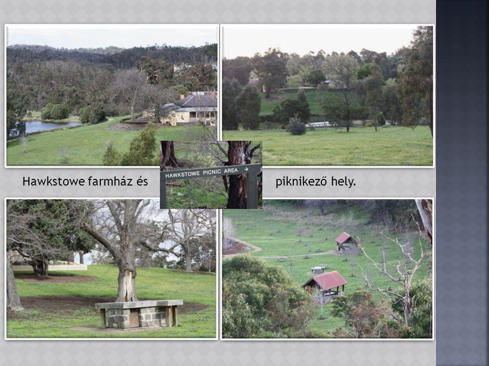 Az egykori Hawkstowe farmházban ma Galéria látható.