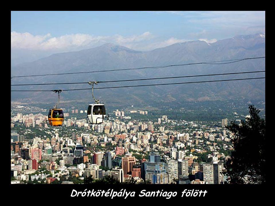 Éjjeli Santiago – pénzügyi és gazdasági központ