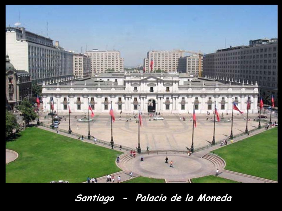 Santiagoi felhőkarcolók