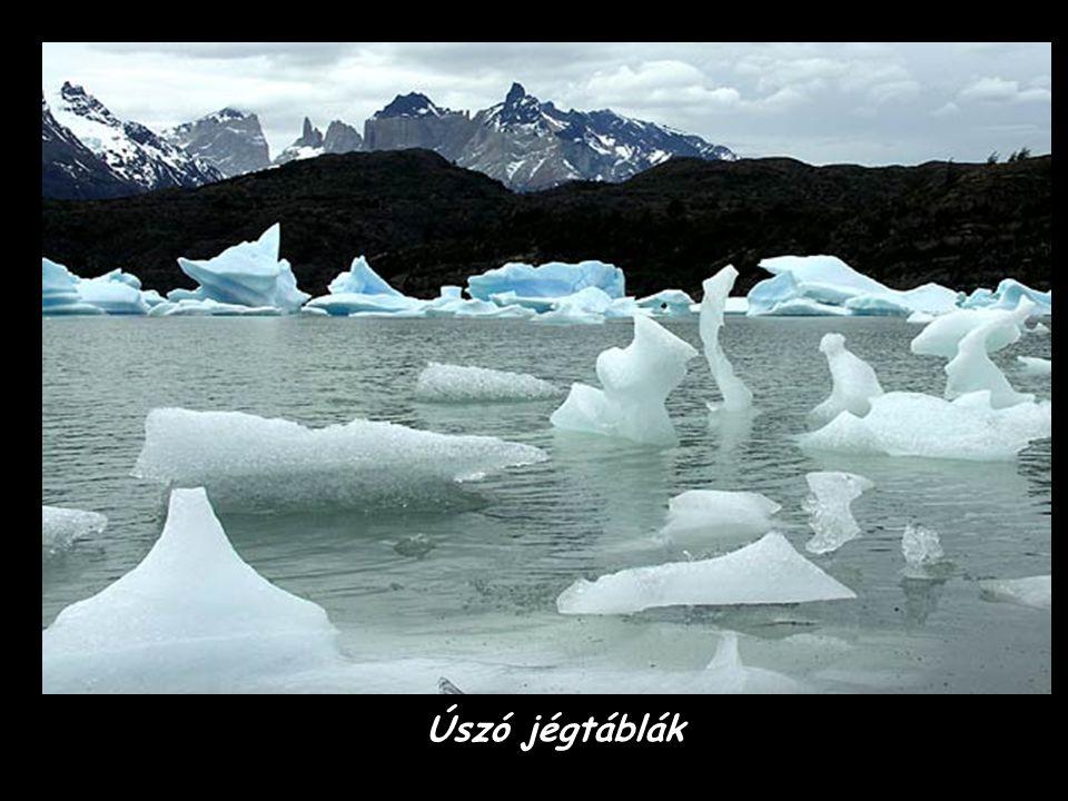 Az Upsala jéghegy - Glacier Nemzeti Park