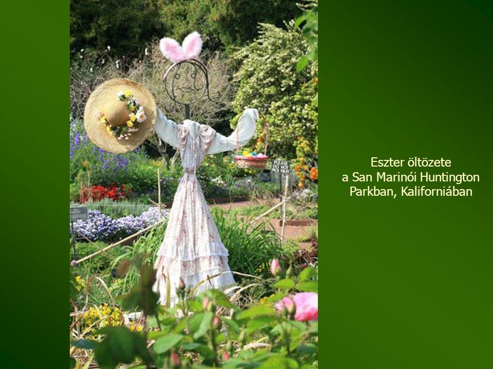 Japánkert a San Marinói Hungtinton Parkban, Kaliforniában