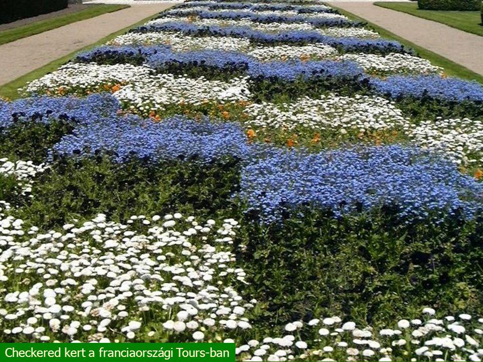 """Francia """"mértani kert a Loire völgyben"""