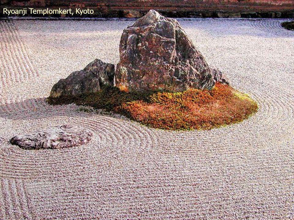 Ryoanji Templomkert, Kyoto