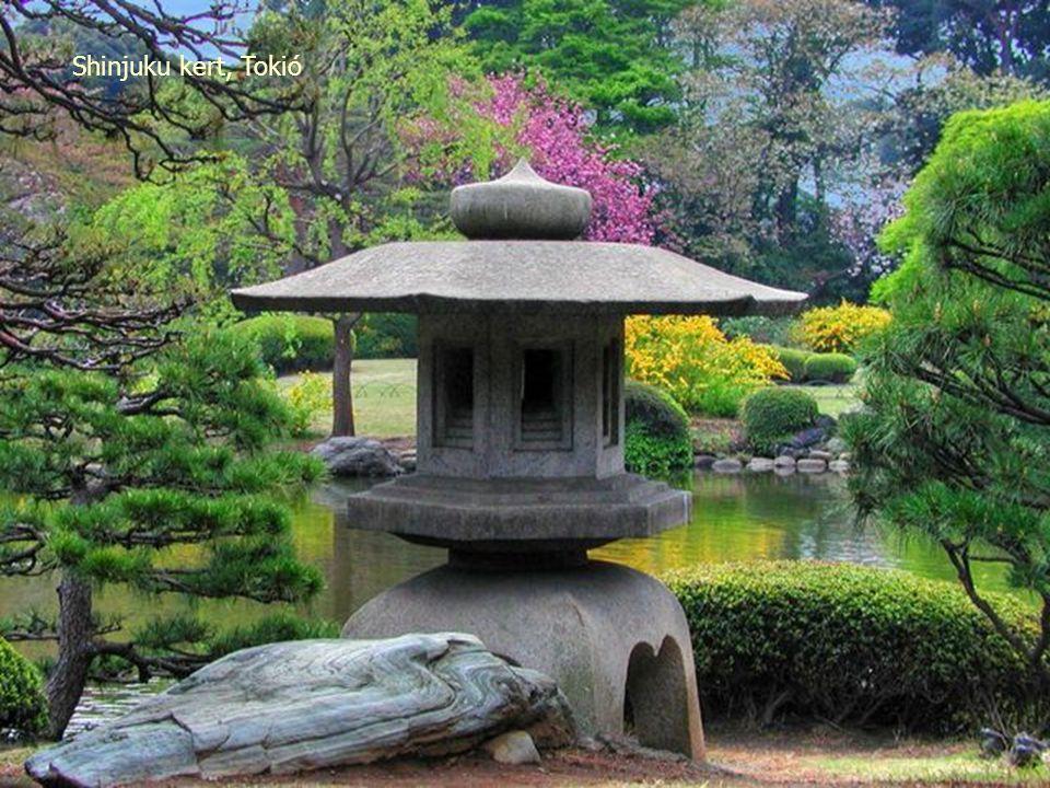 Szent Meguro kert Tokióban