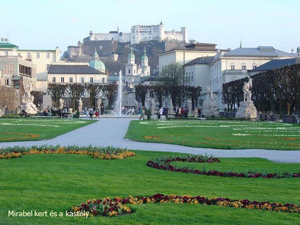 Mirabel kert, Salzburg, Ausztria