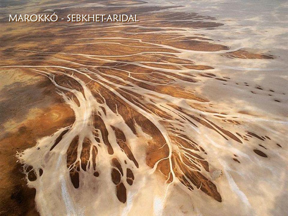 MAROKKÓ - SEBKHET-ARIDAL MAROKKÓ - SEBKHET-ARIDAL