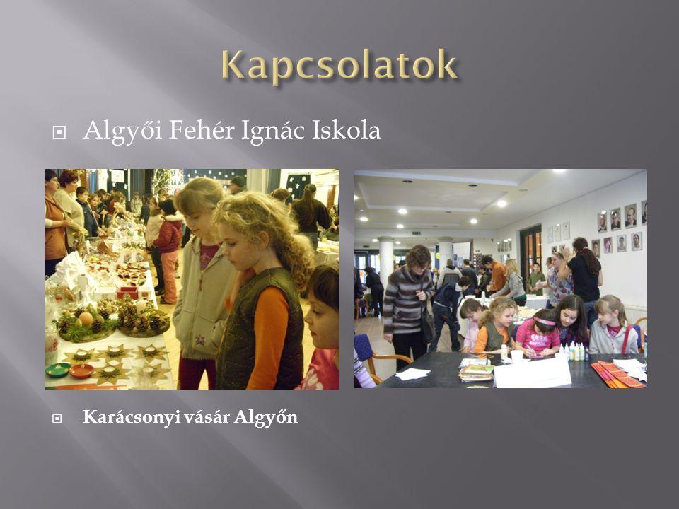  Algyői Fehér Ignác Iskola  Karácsonyi vásár Algyőn