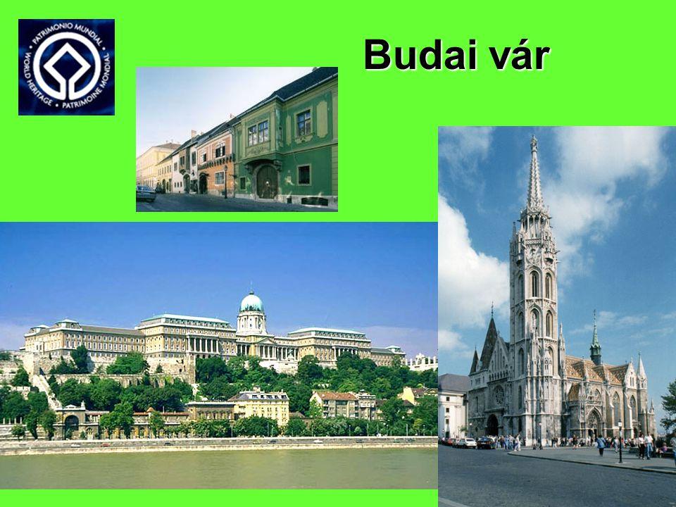 Világörökségi helyszínek, felvétel éve, kategória• Budapest Duna-parti látképe, a Budai Várnegyed, az Andrássy út és történelmi környezete, 1987, Kult