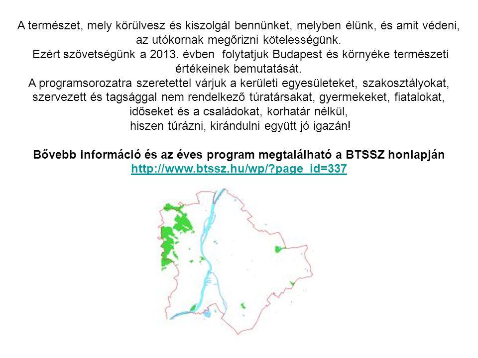 MEGHÍVÓ Természetismereti sétára Ferenc-hegy - Érzékek ösvénye – Szemlő-hegy felszíne - Geologiai tanösvény. 2013.11.16. Szombat