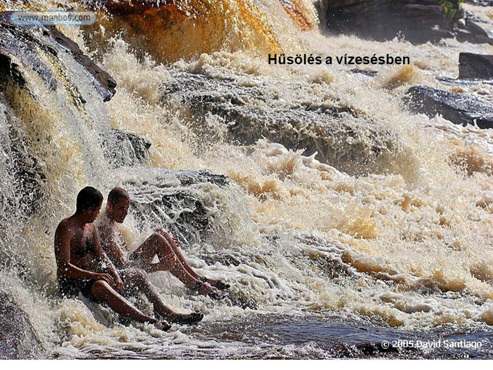 Ugyanaz a vízesés esőzés után