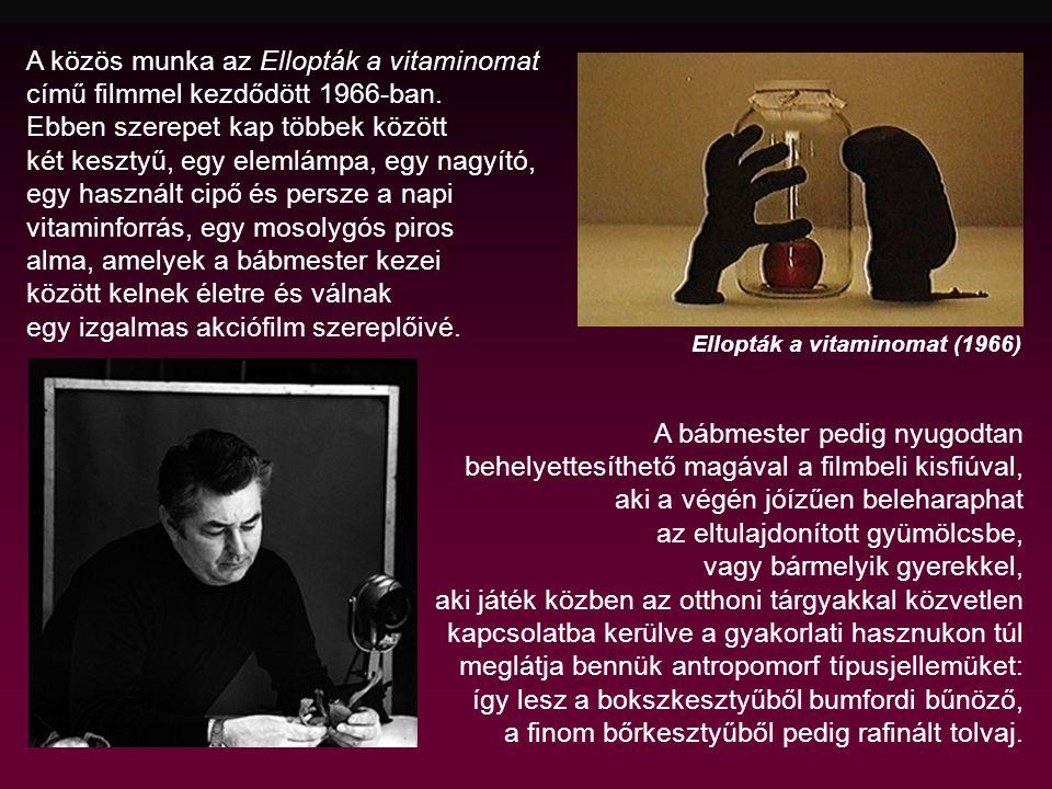 A közös munka az Ellopták a vitaminomat című filmmel kezdődött 1966-ban.