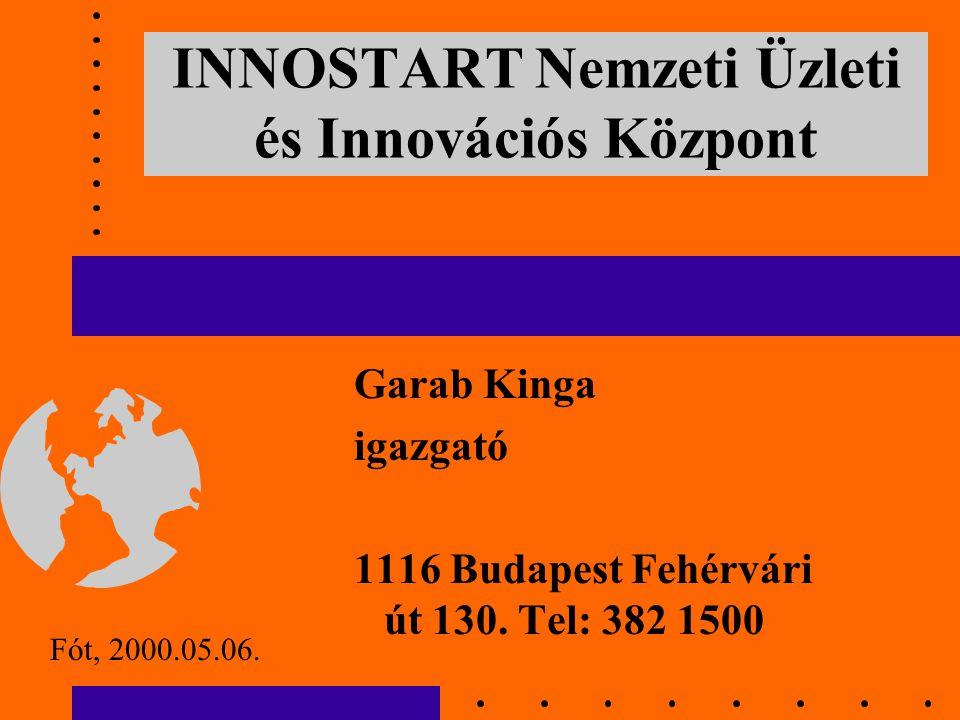 Garab Kinga igazgató 1116 Budapest Fehérvári út 130.
