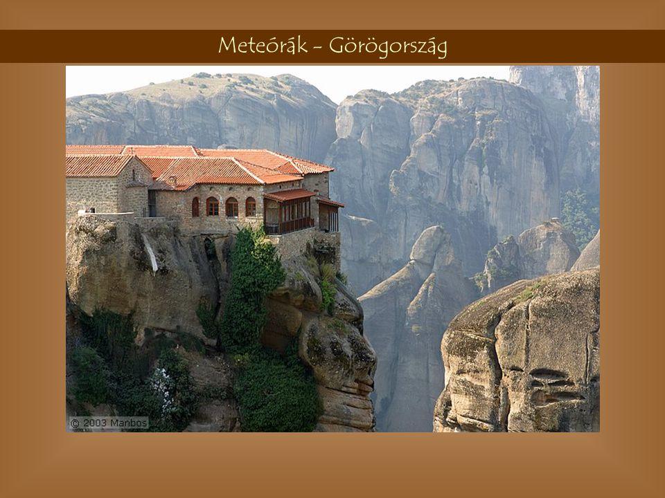 Meteórák - Görögország