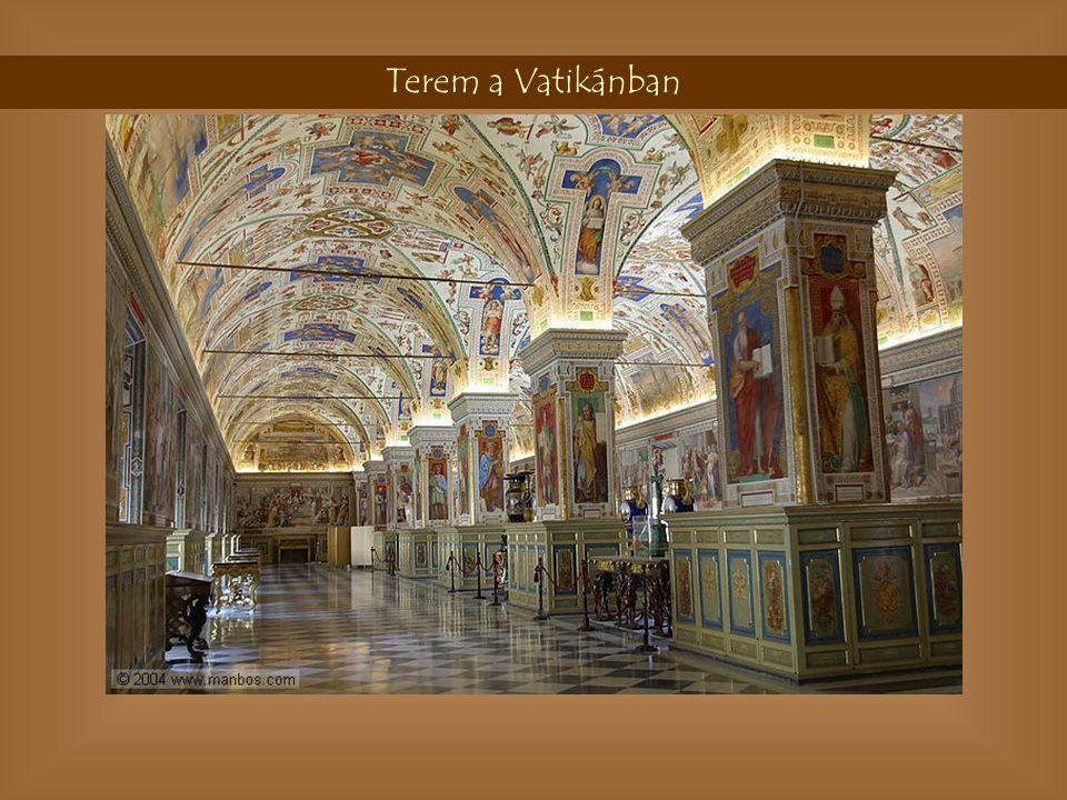 Lépcső Vatikán