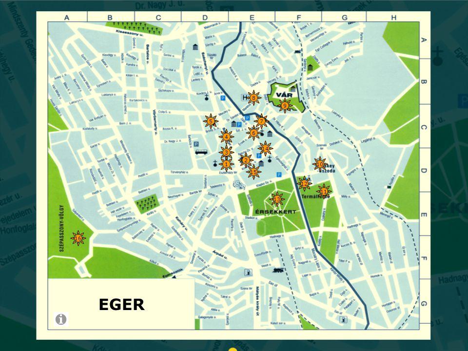 Bitskey uszoda  Eger egyik legszebb rendszerváltás utáni építménye melyet Makovecz Imre tervezett.