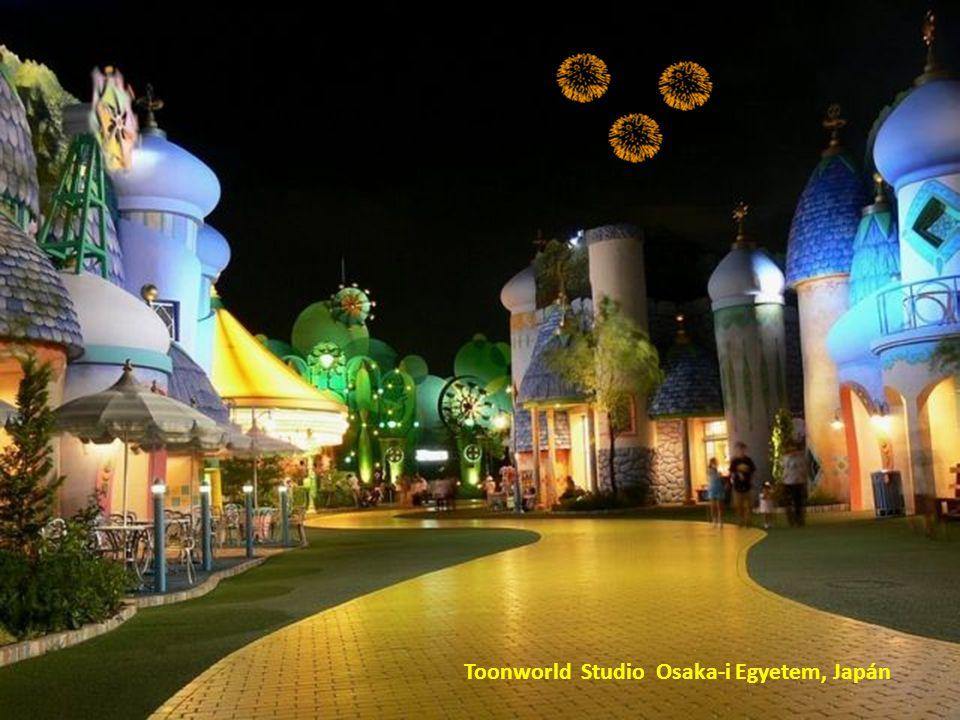 Toonworld Studio Osaka-i Egyetem, Japán