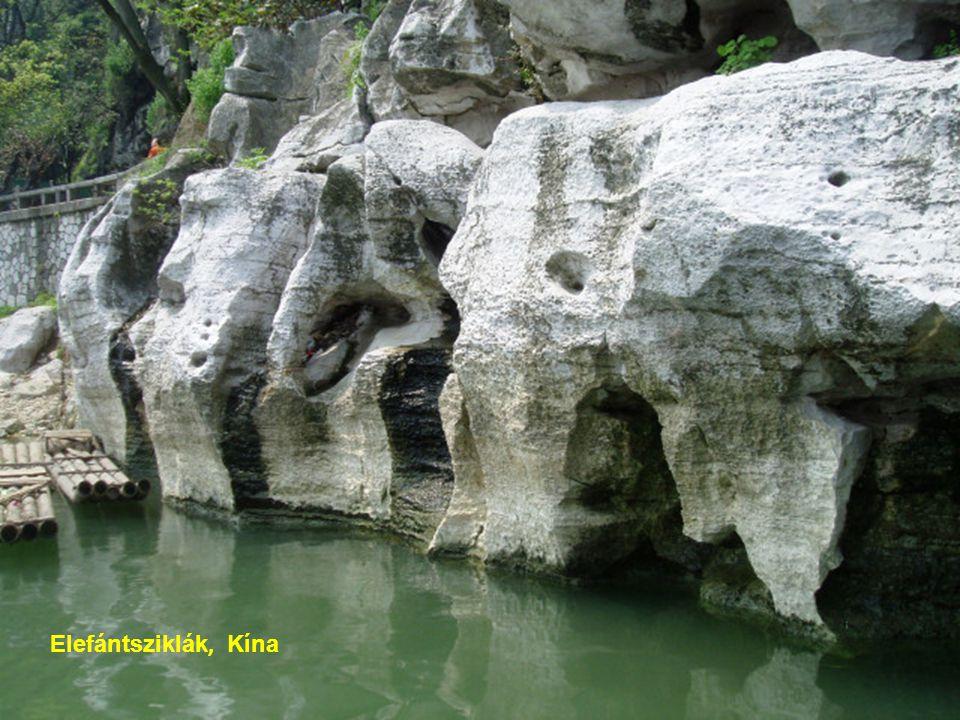 Elefántsziklák, K ína