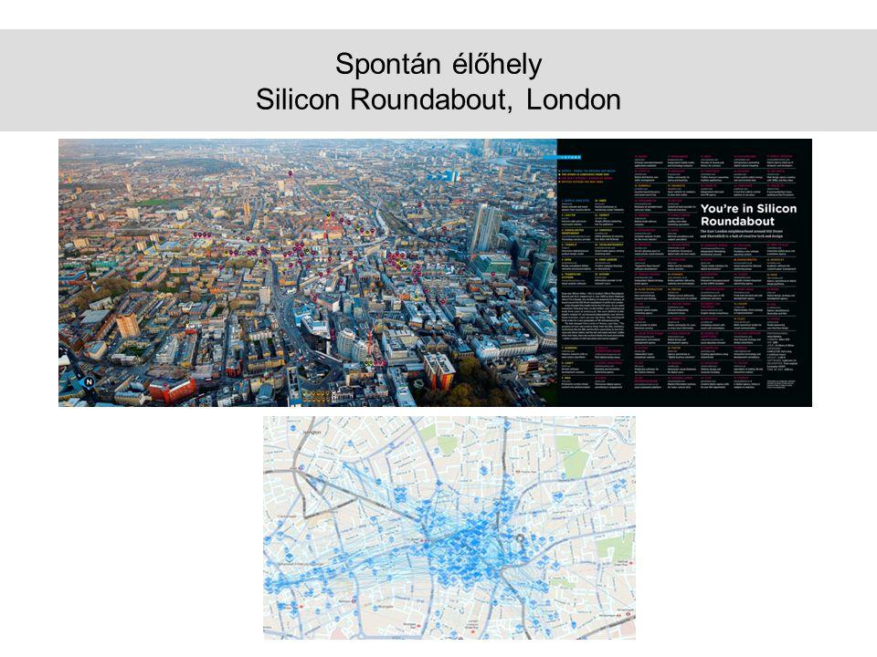 Spontán élőhely Silicon Roundabout, London