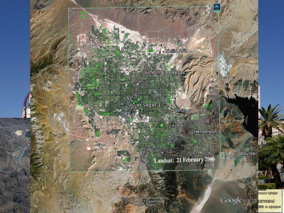 Éghajlat • trópusi sivatagi (Death Valley – 86 m, 50 mm évi csapadékmennyiség) Las Vegas • mediterrán  módosítja a Kaliforniai-áramlat  negatív hőmérsékleti anomália • Hegyvidéki  függőleges övezetesség