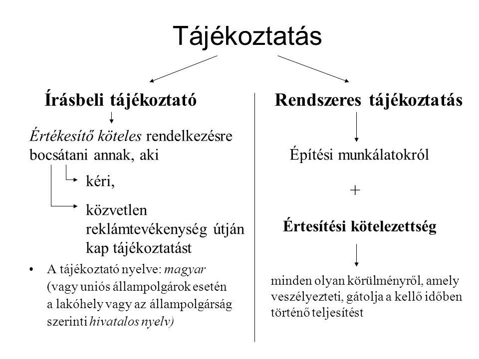 Tájékoztatás •A tájékoztató nyelve: magyar (vagy uniós állampolgárok esetén a lakóhely vagy az állampolgárság szerinti hivatalos nyelv) Írásbeli tájék
