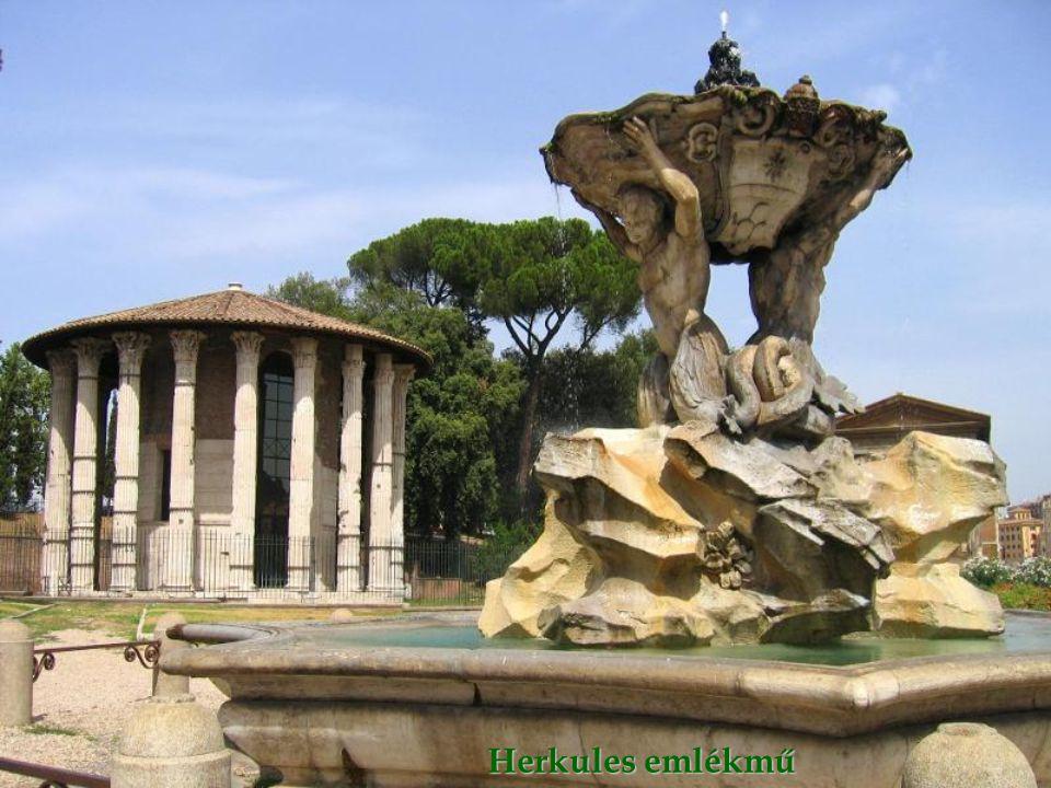 A Piazza della Rotonda szökőkútja