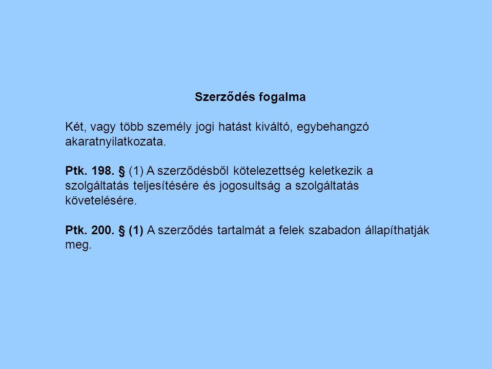Szerződési feltételek Ptk.205.