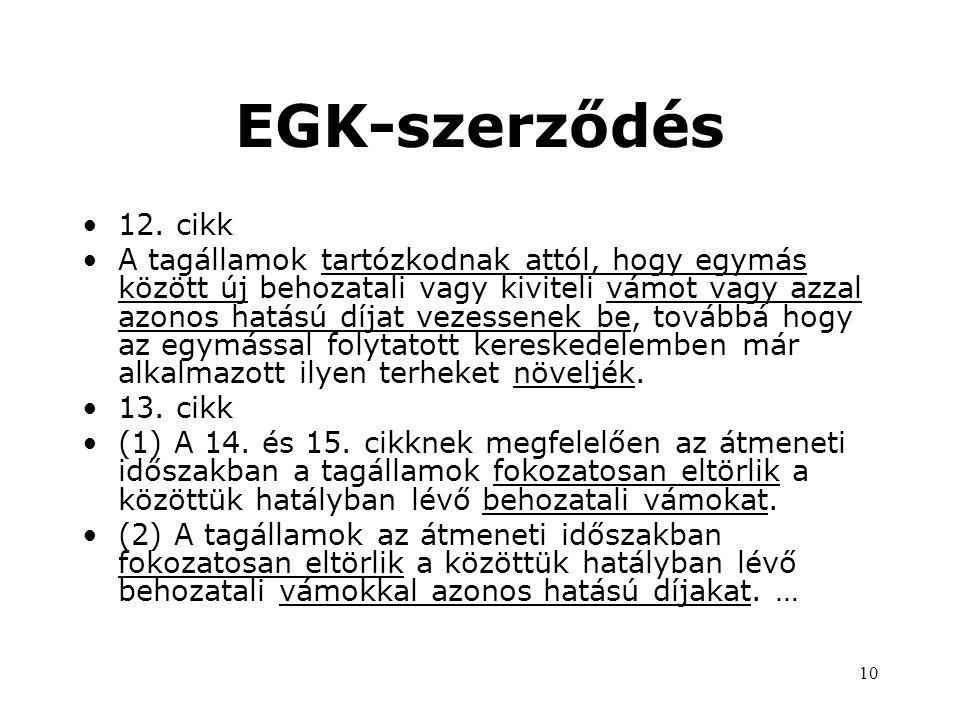 10 EGK-szerződés •12.