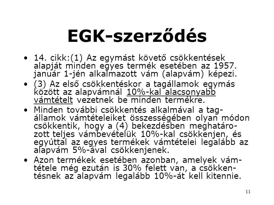 11 EGK-szerződés •14.