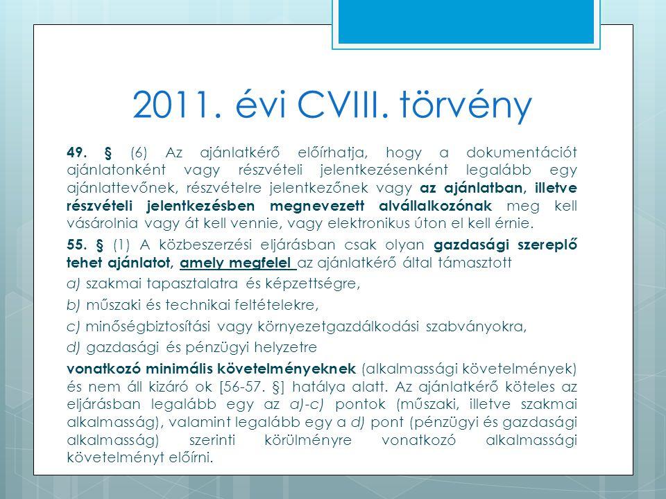 2011. évi CVIII. törvény 49.