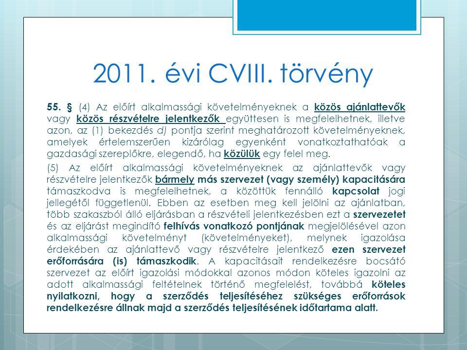 2011. évi CVIII. törvény 55.