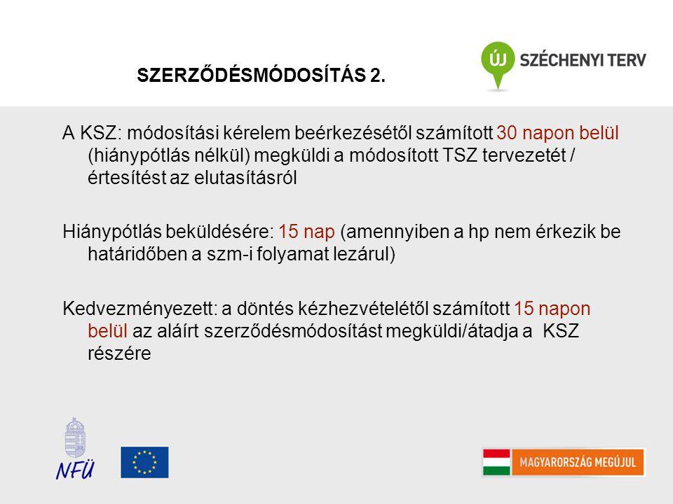 SZERZŐDÉSMÓDOSÍTÁS 3.