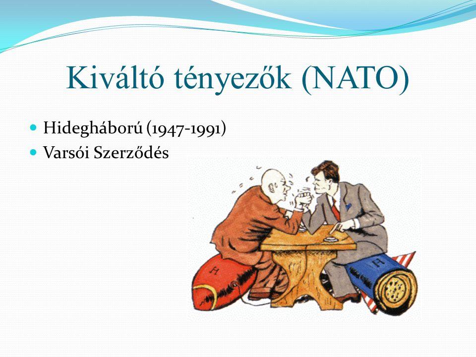 Kiváltó tényezők (NATO)  Hidegháború (1947-1991)  Varsói Szerződés