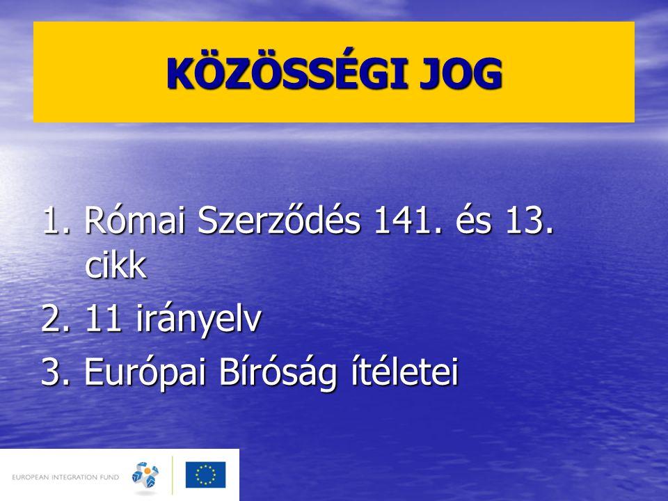 KINEK KÖTELEZŐ.1. Költségvetési szervek (pl. FMM, Esélyegyenlőségi Kormányhivatal) 2.