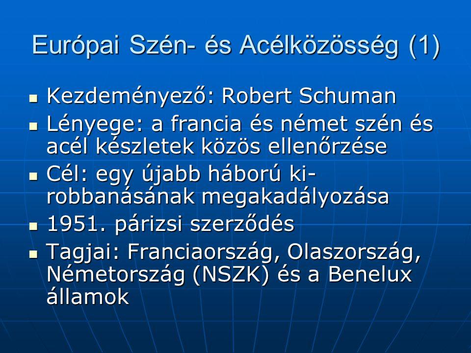 Az Európai Parlament (2)  Hatáskörei: - Bizonyos kérdésekben döntéshozó szerep - Politikai ellenőrzés -Nem rendelkezik normatív, vagyis jogalkotási hatáskörrel -Önigazgatás joga