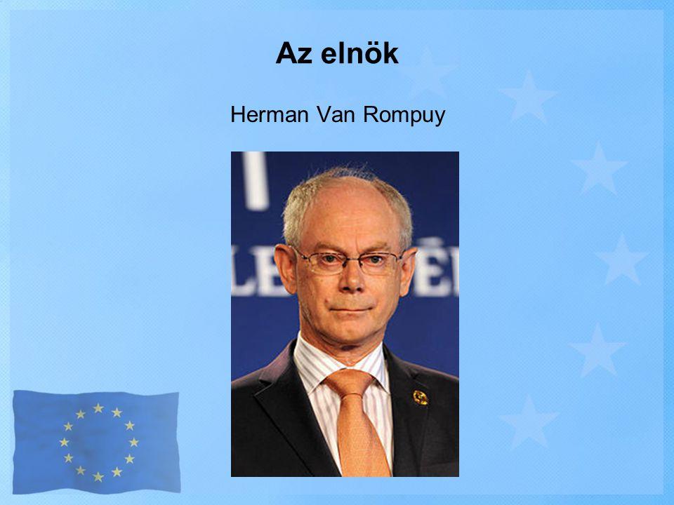 Herman Van Rompuy Az elnök