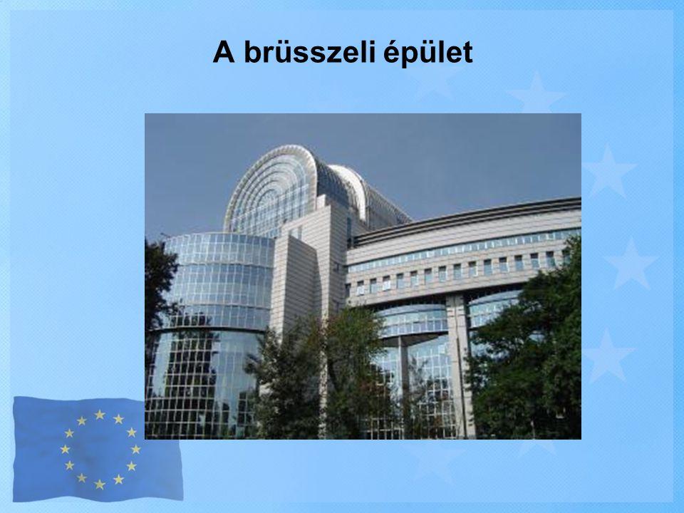 A brüsszeli épület