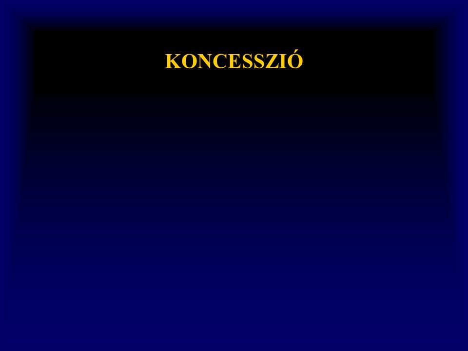KONCESSZIÓ