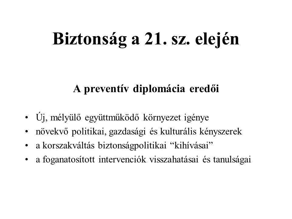 Biztonság a 21. sz.