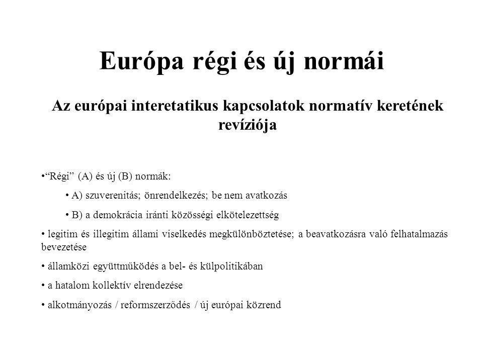 A CSCE az új Európában (1986–) I.