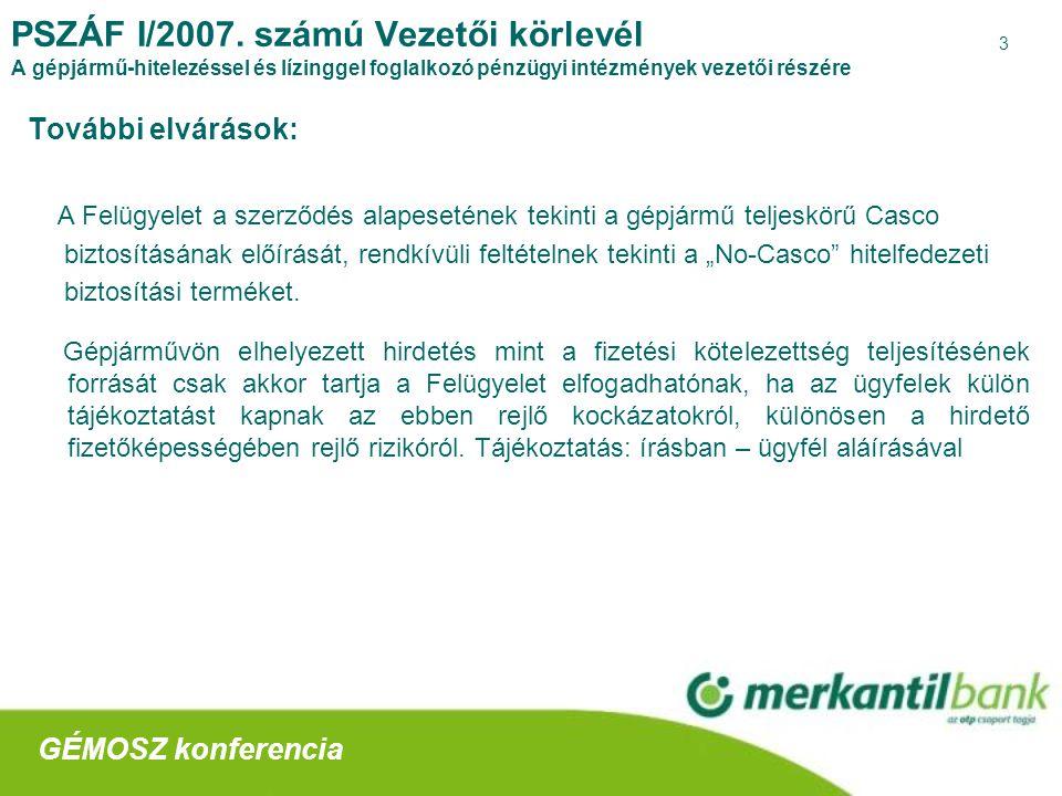 4 PSZÁF I/2007.