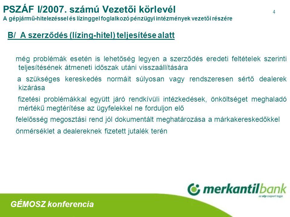 5 PSZÁF I/2007.