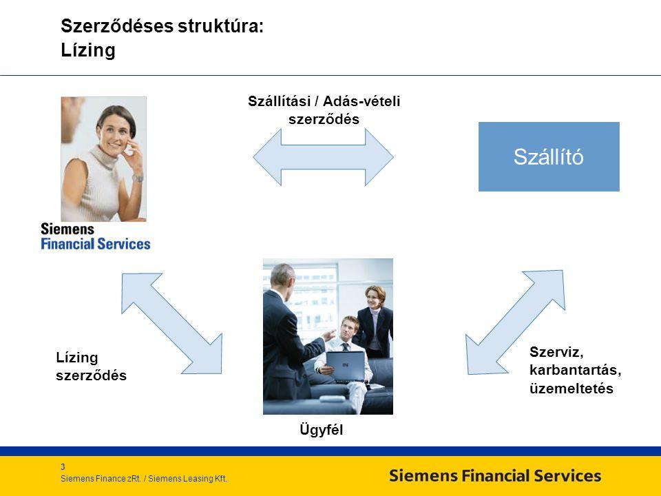 3 Siemens Finance zRt./ Siemens Leasing Kft.