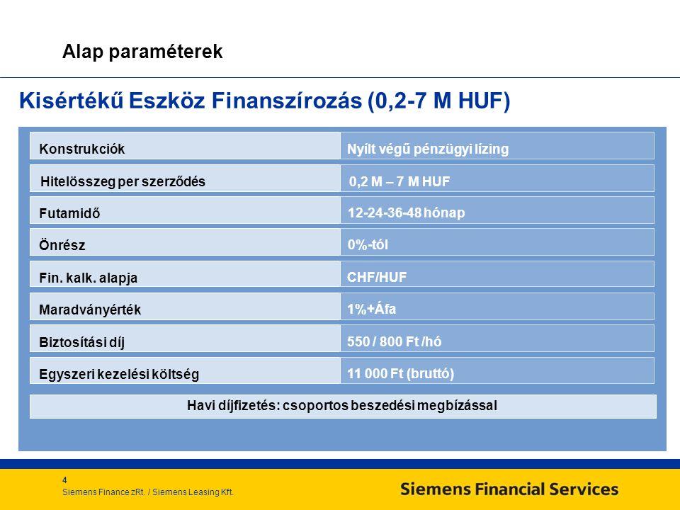 4 Siemens Finance zRt./ Siemens Leasing Kft.