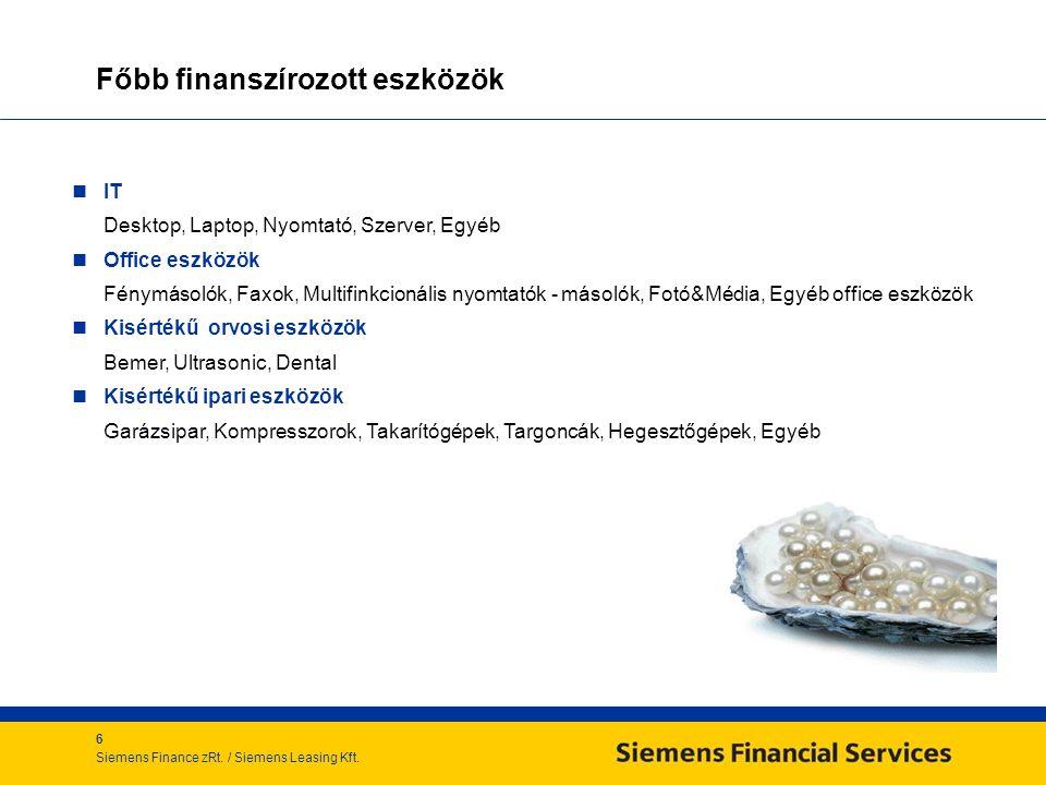 6 Siemens Finance zRt./ Siemens Leasing Kft.
