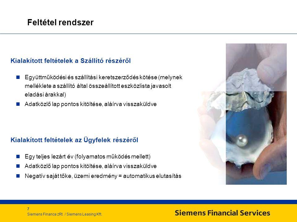 7 Siemens Finance zRt./ Siemens Leasing Kft.
