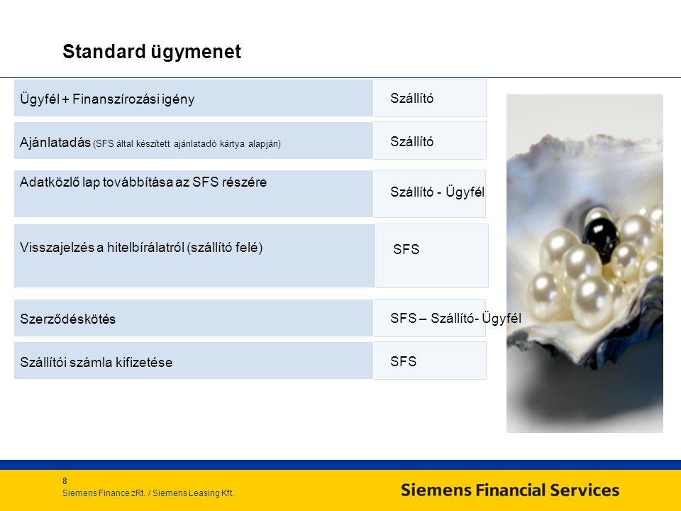 8 Siemens Finance zRt./ Siemens Leasing Kft.
