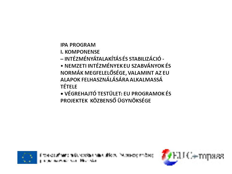 IPA PROGRAM I.