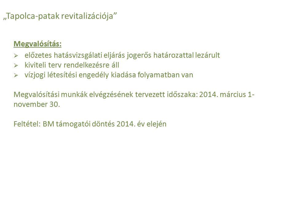 """""""Kislődi tározó megépítése Közfoglalkoztatási mintaprogram Támogatás forrása: Start-munkaprogram 2013."""