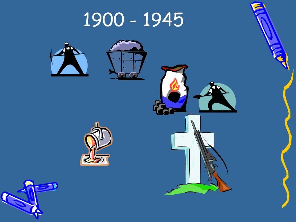 1900 - 1945