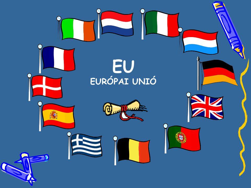 EU EURÓPAI UNIÓ